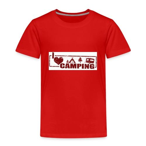 I love Camping - Kinder Premium T-Shirt