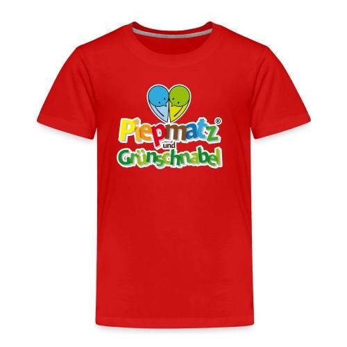 Piepmatz und Grünschnabel - Kinder Premium T-Shirt