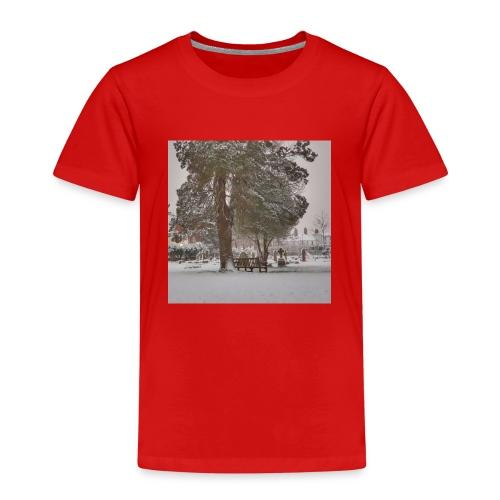 Graveyard In Winter - Kids' Premium T-Shirt