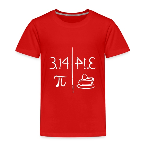 pi vs pie - Kids' Premium T-Shirt