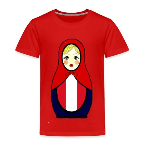 Peru Matrjoschka Matroschka - Kinder Premium T-Shirt