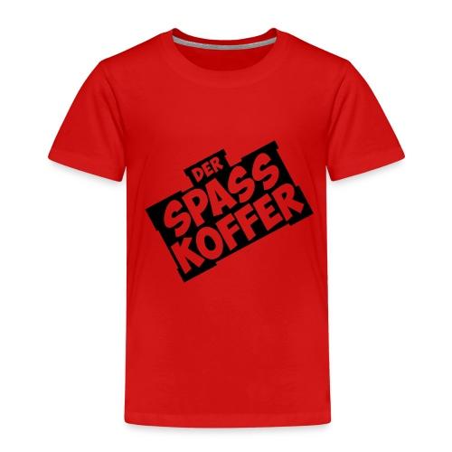 Der Spasskoffer in Schwarz - Kinder Premium T-Shirt