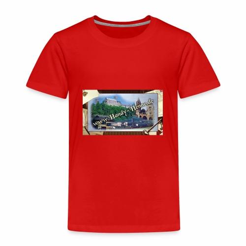 Handy-Henne.de Werbeauftrug 2018 - Kinder Premium T-Shirt