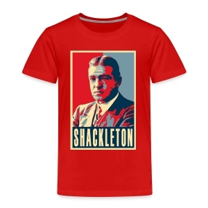 Sir Ernest Shackleton (red, white & blue colours) - Kids' Premium T-Shirt