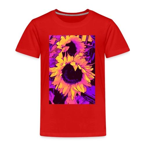 Funky Sunflower - Sonnenblumen / welikeflowers - Kinder Premium T-Shirt