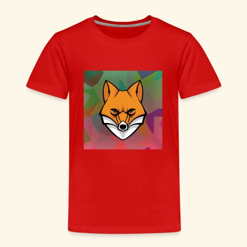 CurlyFox Logo - Kinder Premium T-Shirt