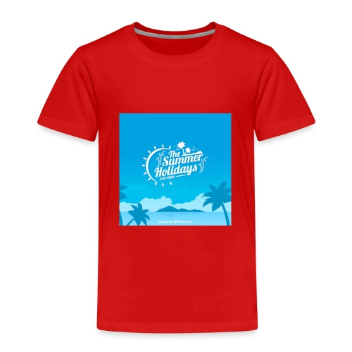 the summer holidays - Kids' Premium T-Shirt