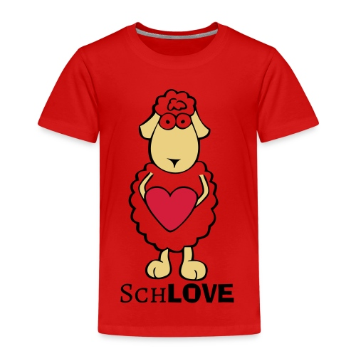 Schaf/Schäfchen/Love - Kinder Premium T-Shirt