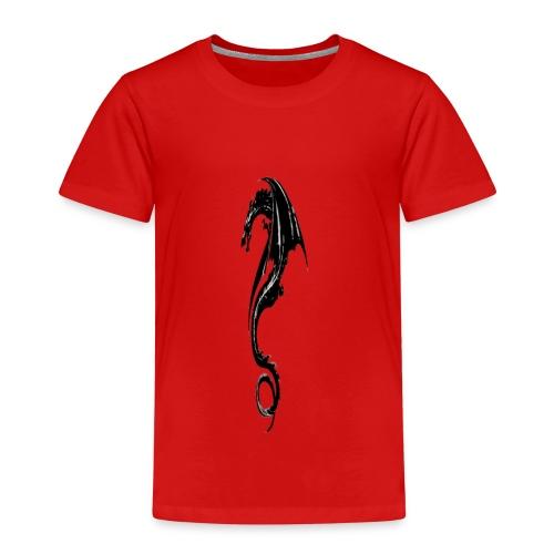 Schwarzer Drache (Chinese Style) - Kinder Premium T-Shirt