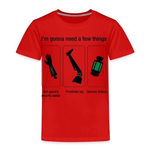 Rocket citation Few things gardiens - T-shirt Premium Enfant