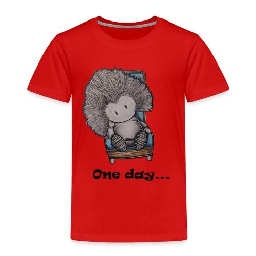 Marcelleke - Le penseur - Kinder Premium T-Shirt