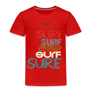 Surfing dreams for surf addicted, by kite-mallorca - Kids' Premium T-Shirt