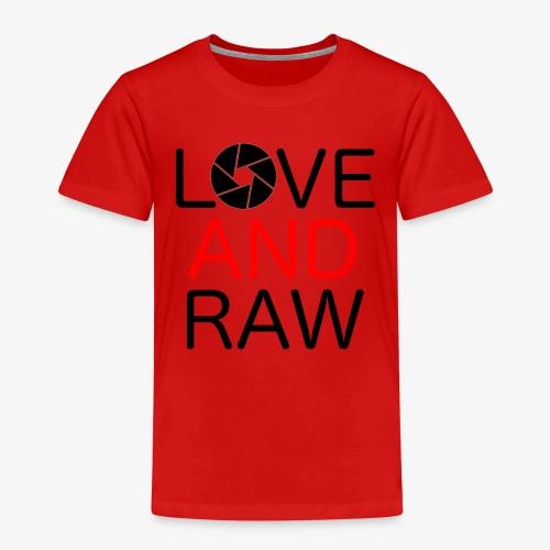 Love Raw - Kids' Premium T-Shirt