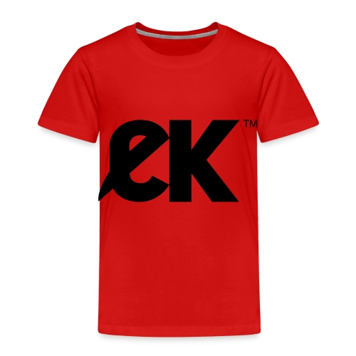EK logo Black Centred - Kinderen Premium T-shirt