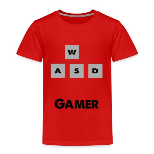 W, A, S, D Gamer - Kids' Premium T-Shirt