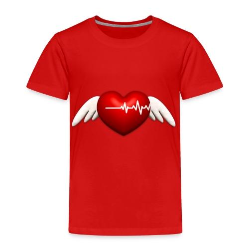 Lebensretter Herz mit Flügel - Kinder Premium T-Shirt