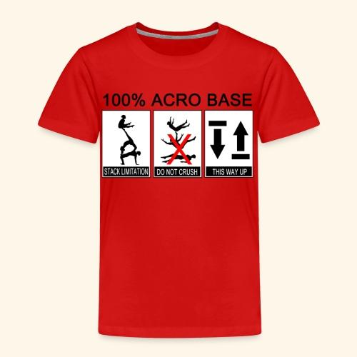 100% Acro Base - Women - Kids' Premium T-Shirt
