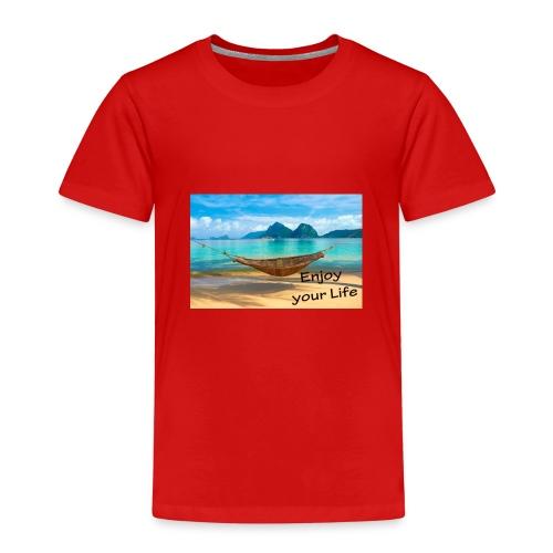 Enjoy your Life - Kinder Premium T-Shirt