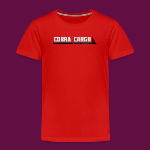 Einfaches Firmenlogo - Kinder Premium T-Shirt