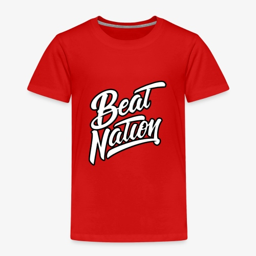Logo Officiel Beat Nation Blanc - Kinder Premium T-Shirt