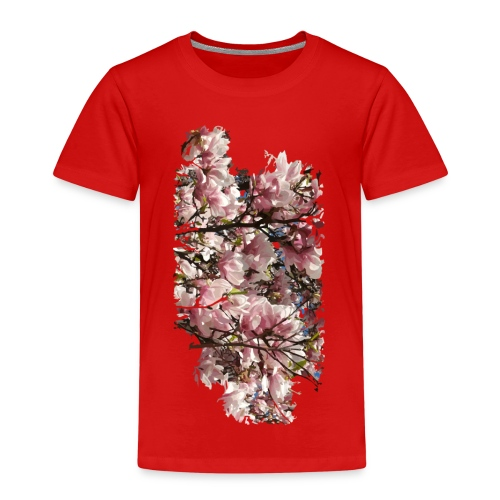 Tree Flower - Kinder Premium T-Shirt