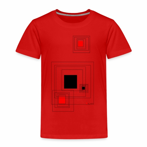 geometric design - Kinder Premium T-Shirt