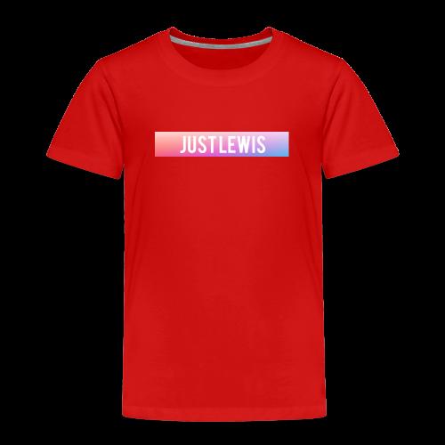 Just Lewis Box Logo - Kids' Premium T-Shirt