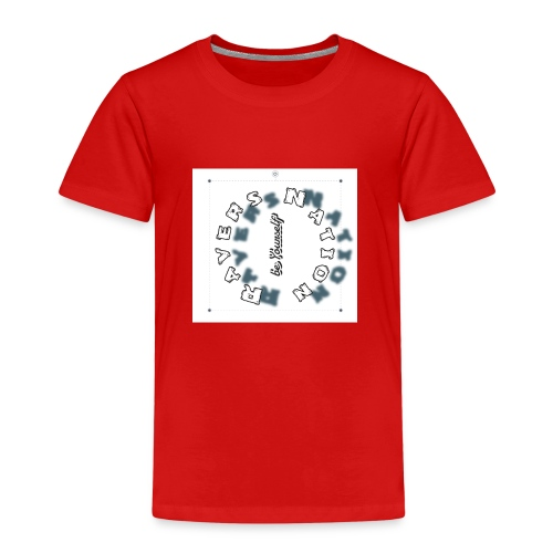 Ravers Nation (be yourself) - Kinder Premium T-Shirt