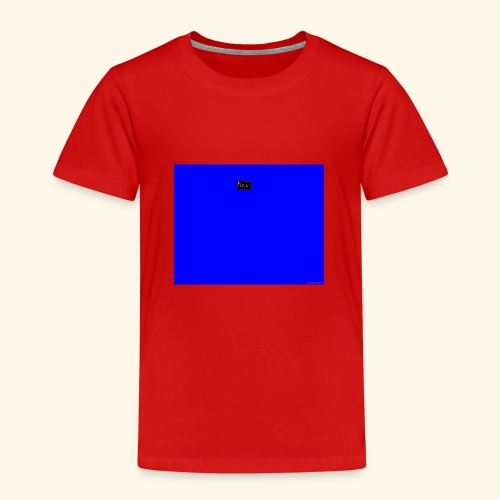 pucci blue background logo - Børne premium T-shirt