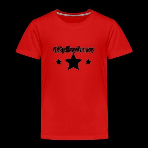 #SpikyArmy - Kinder Premium T-Shirt