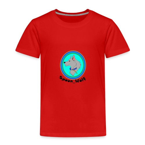 Spoon_Wolf_2-png - Kids' Premium T-Shirt