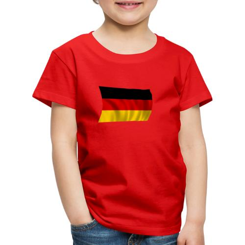 Deutsche Flagge T-Shirt - Kinder Premium T-Shirt