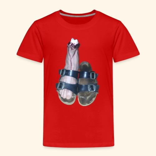 Fuß in Schuh - Kinder Premium T-Shirt