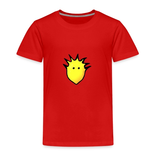 Spikey Lemon logo 2 - Kids' Premium T-Shirt