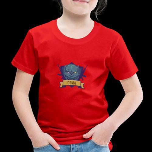 logo coma - T-shirt Premium Enfant