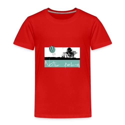 Ballon Natur - Natur feeling - Kinder Premium T-Shirt