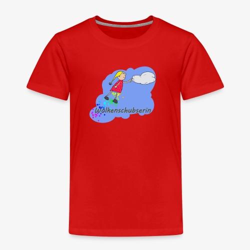 Die Wolkenschubserin im Himmel - Kinder Premium T-Shirt