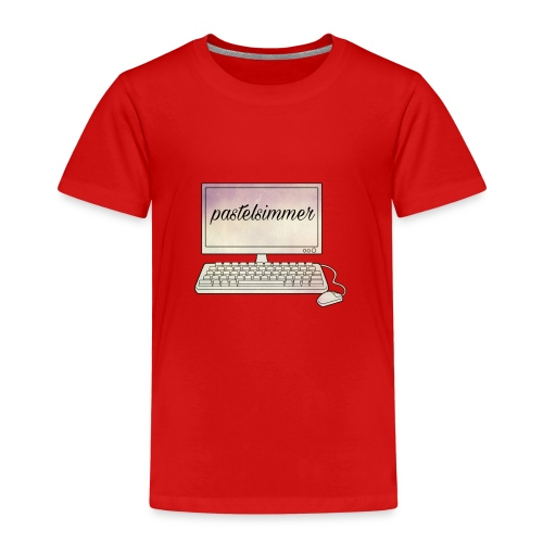 pastelsimmer Computer Merch - Koszulka dziecięca Premium