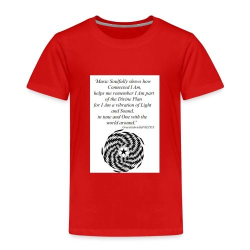 'Soul' GraceGabriellaPOETICS - Kids' Premium T-Shirt