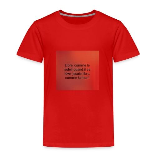 Photo 1524257958250 1 - T-shirt Premium Enfant