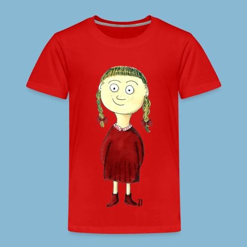 Martha mit den Zöpfen - Kinder Premium T-Shirt