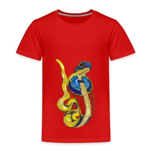 Altägyptische Göttin Wadjet - Kinder Premium T-Shirt