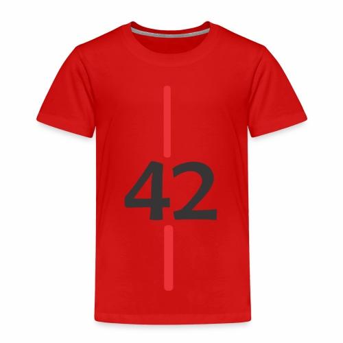 42 - Camiseta premium niño
