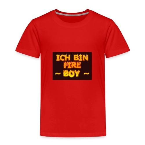 Fire Boy - Kinder Premium T-Shirt