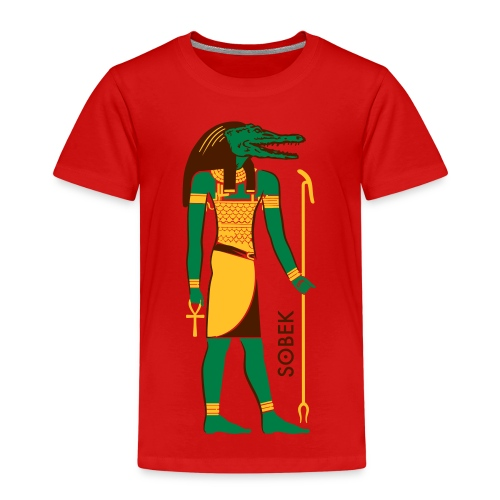 SOBEK God of Egypt - Kinder Premium T-Shirt