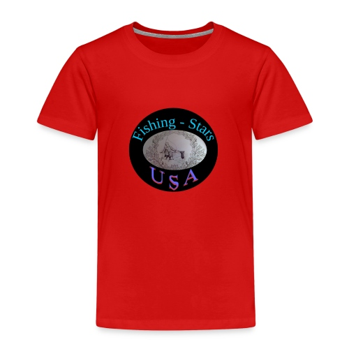 Fishing - Stars USA - Kinder Premium T-Shirt