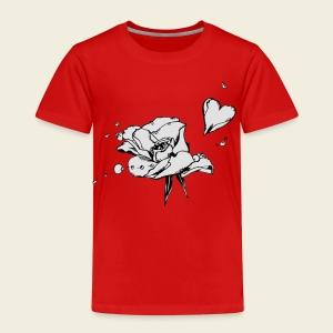 Rosenblattherz - Kinder Premium T-Shirt