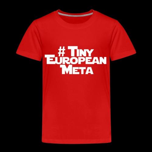 TEM White - Kids' Premium T-Shirt