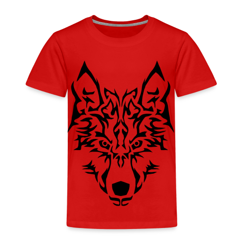 Tribal Wolf - T-shirt Premium Enfant