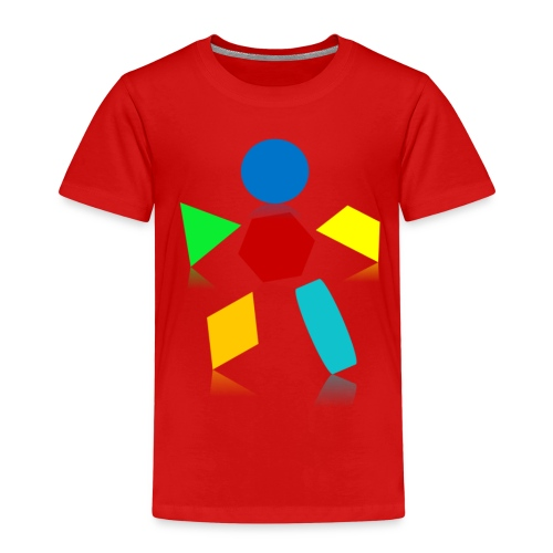 Formen - Kinder Premium T-Shirt